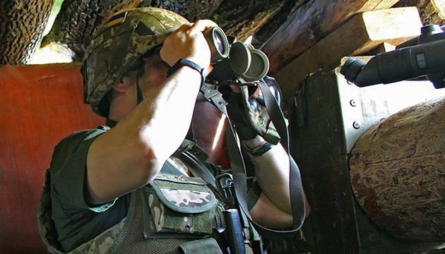 Оккупанты трижды обстреляли позиции ВСУ из запрещенных минометов и артиллерии