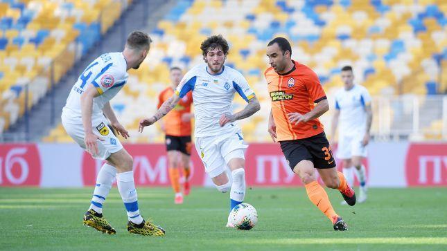 «Шахтёр» одержал волевую победу в противостоянии с киевским «Динамо»