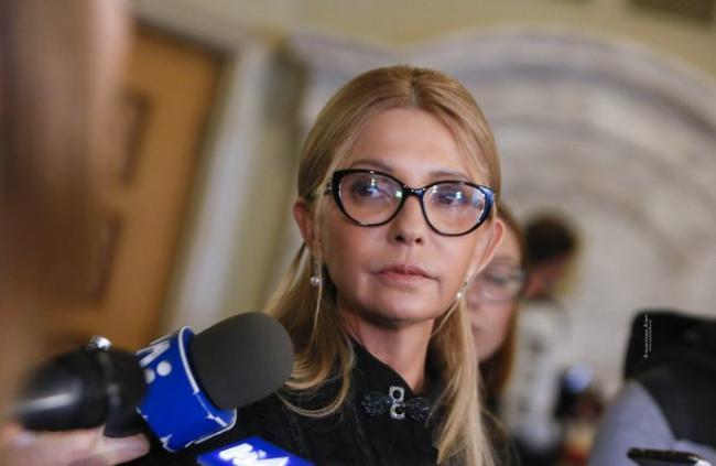 Тимошенко предложила защиту представителям местной власти, выступившим против карантина