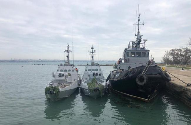 Украина будет требовать от России компенсацию за захваченных моряков