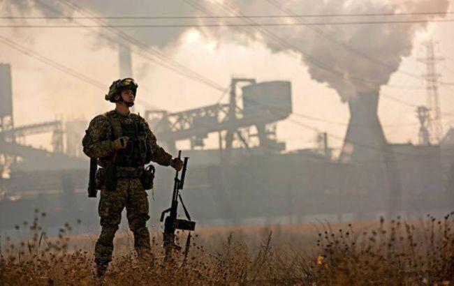 Боевики обстреляли силы ООС из крупнокалиберных пулеметов в районе Луганского