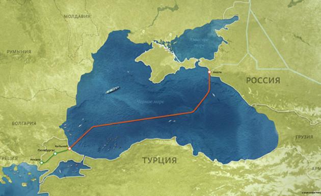Транзит российского газа через территорию Украины вырос на 50%