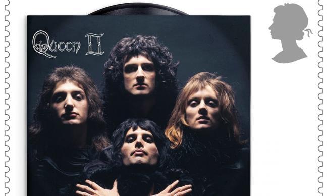 Queen появятся на почтовых марках Великобритании