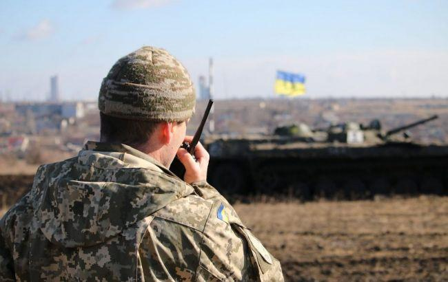 Враг за сутки пять раз обстрелял позиции ОС на Донбассе, ранен один украинский воин