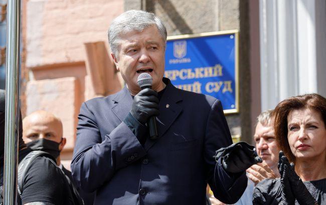 Порошенко под судом: власть хочет ограничить участие украинской оппозиции в выборах