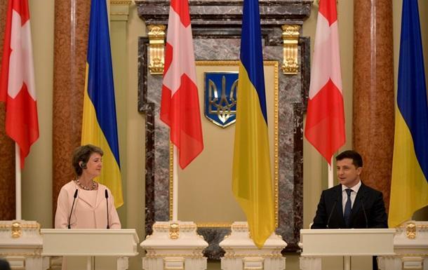 Украина получит от Швейцарии 108 миллионов франков помощи