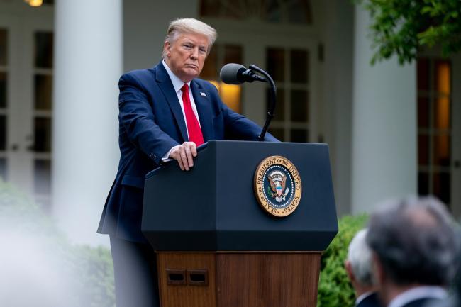 Трамп заявил о снизившейся смертности от коронавируса