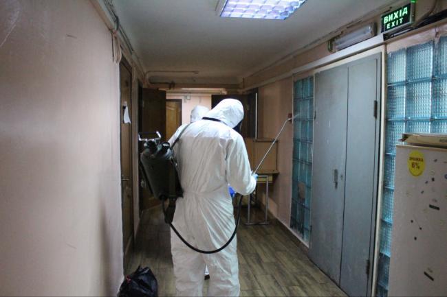 В общежитии в Киеве вспышка COVID-19, все зараженные – иностранцы