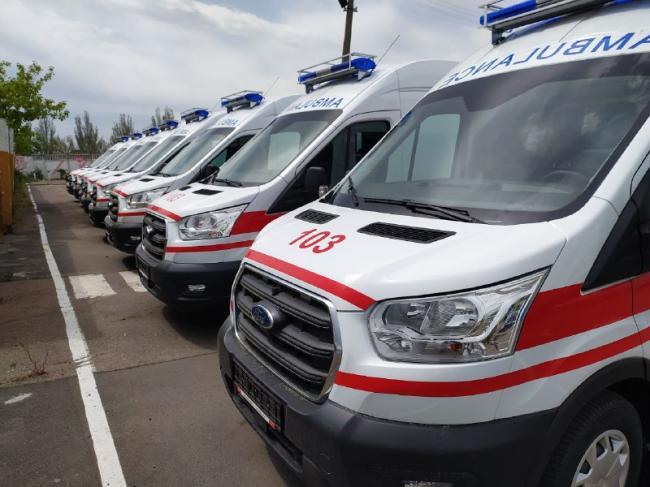 До конца 2020 года Минздрав закупит 400 авто экстренной медицинской помощи