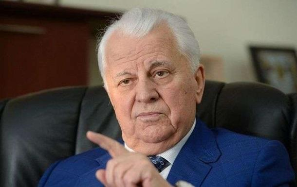 Кравчук уточнил, с кем из ОРДЛО готов вести переговоры по Донбассу