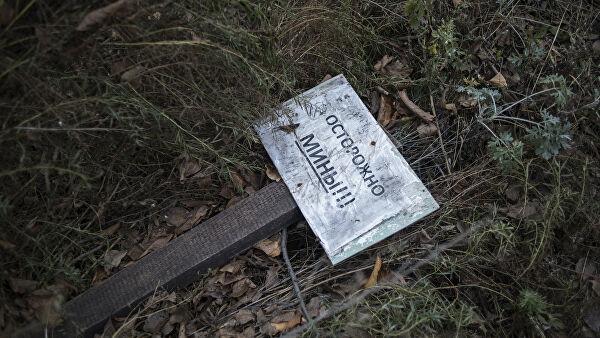 На Донбассе двое военных подорвались на неизвестном взрывном устройстве