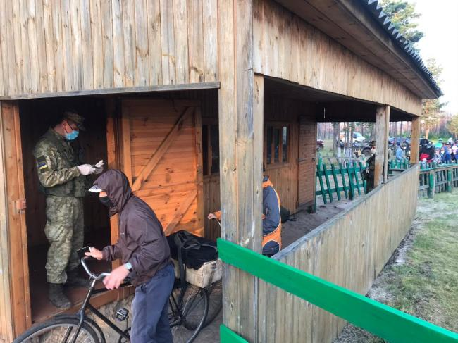 Места упрощенного пересечения границы Украины с Беларусью закрыты