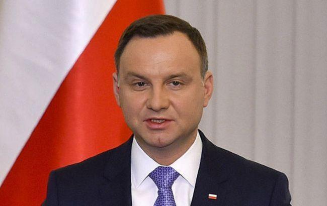 Президент Польши планирует посетить Украину в следующем месяце
