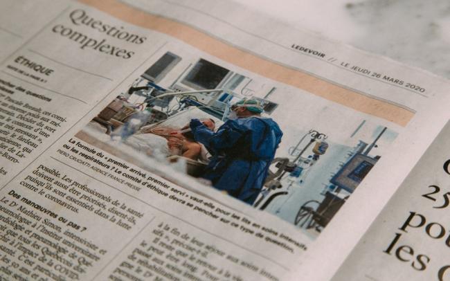 Газета The New York Times впервые за 80 лет вышла без телепрограммы