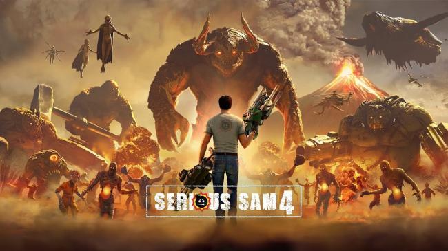 Брутальная Serious Sam 4 обзавелась системными требованиями