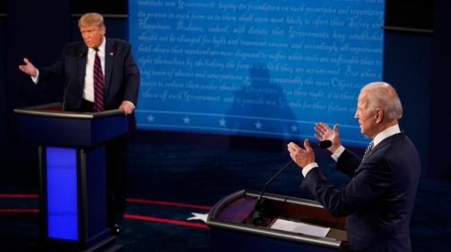 В ходе финальных дебатов Трамп и Байден сообщили, что Россия хочет их поражения на выборах