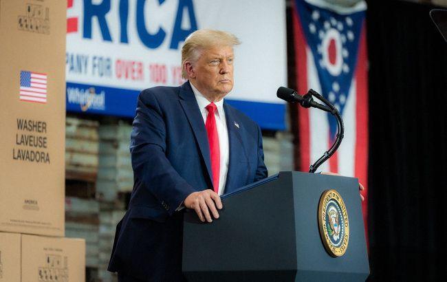 """Трамп назвал """"очень странным"""" лидерство Байдена в части ключевых штатов"""