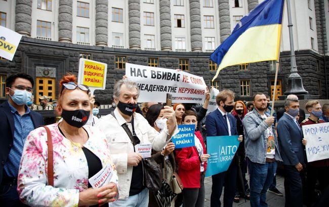 Украинцы оценили действия властей по борьбе с коронавирусом