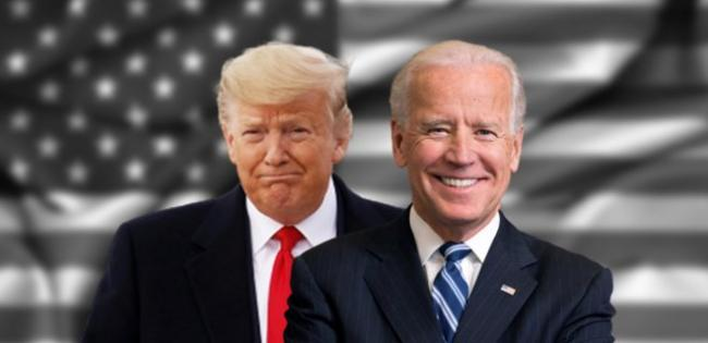Байден опережает Трампа в опросах перед голосованием на выборах в США