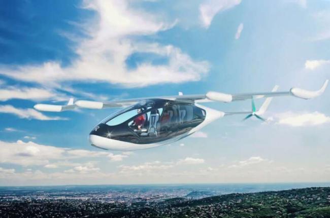 Летающие такси появятся в Испании уже в 2022 году