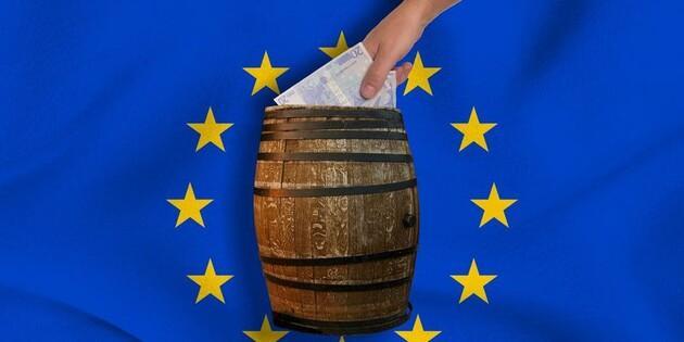 ЕС выдал Украине за шесть лет €16,5 млрд займов, США - $4,1 млрд