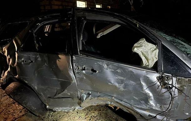 Под Харьковом пьяный сотрудник СТО разбил угнанный Lexus клиентки