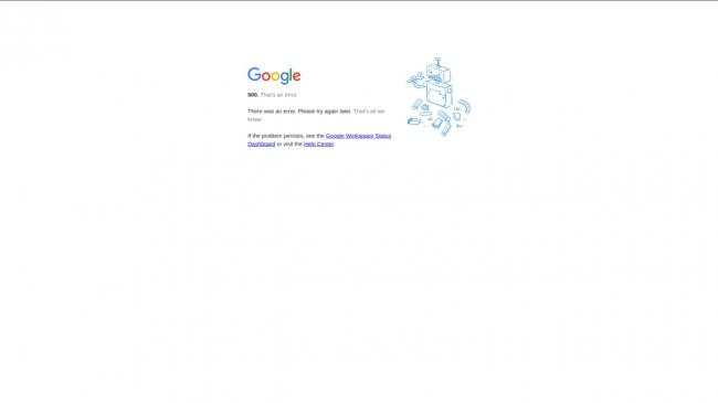 Пользователи по всему миру жалуются на сбой в работе сервисов Google