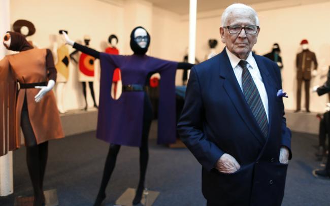 Ушел из жизни известнейший модельер Пьер Карден