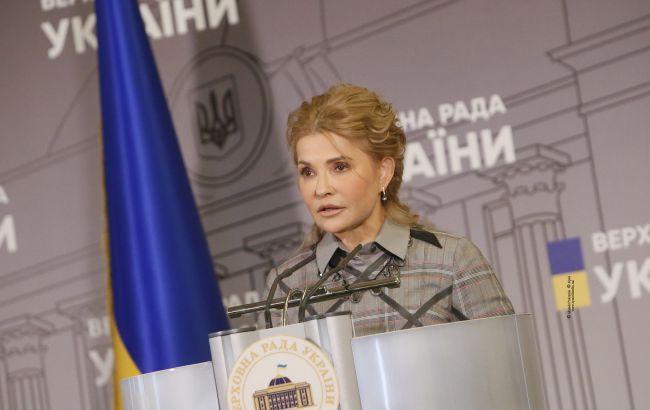 Тимошенко назвала основную задачу пятой сессии Верховной Рады