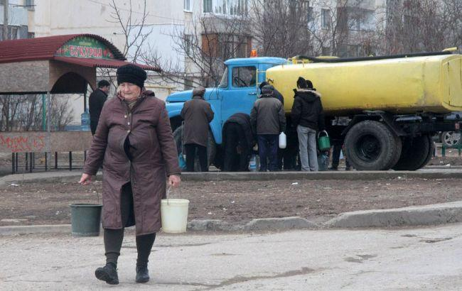 В Крыму полностью истощены два водохранилища, еще одно - на грани высыхания