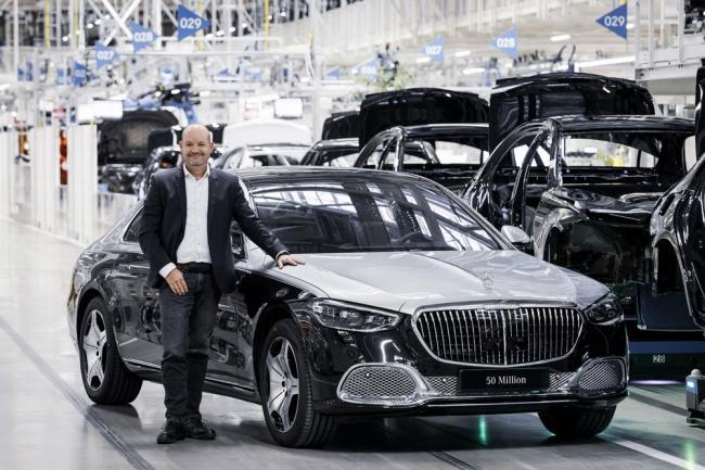Mercedes-Benz выпустил 50-миллионный автомобиль
