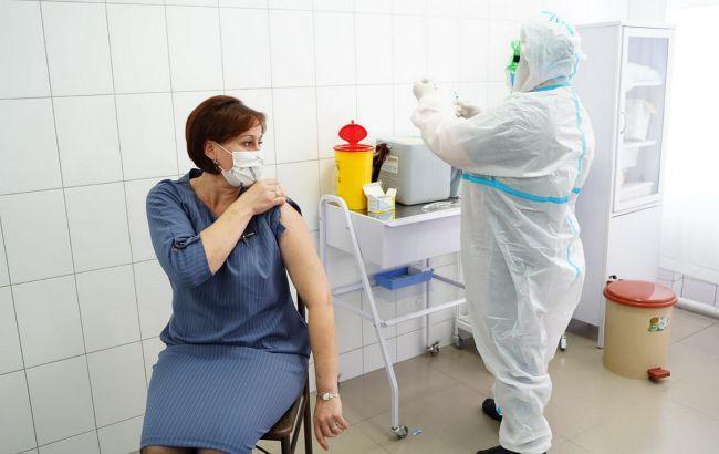 На вакцинацию в Украине записались более 44 000 человек