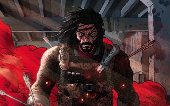 Netflix выпустит фильм и аниме-сериал по комиксу Киану Ривза