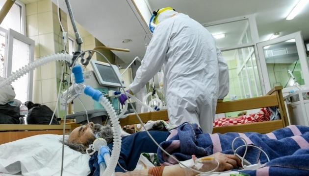 Коронавирус в Украине: заполненность больниц составляет 57%