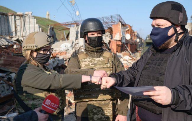 Представители Украины, Литвы и Польши сделали совместное заявление по Донбассу