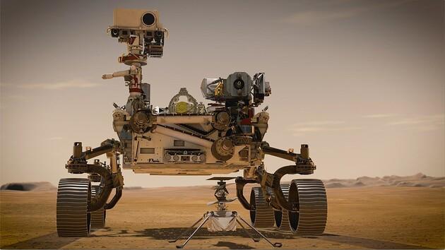Марсоход Perseverance смог получить кислород из атмосферы планеты