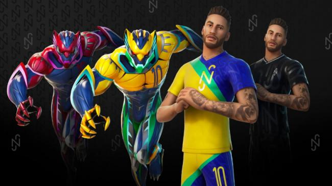 В популярной видеоигре Fortnite можно будет получить экипировку звездного футболиста Неймара
