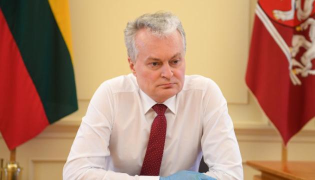 Литва будет способствовать деоккупации территорий Украины