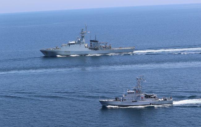 Для поддержки безопасности: в Черном море прошли совместные учения Украины и Британии