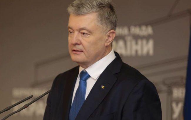 Порошенко рассказал, какие санкции остановят Россию