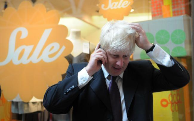 Личный номер премьер-министра Великобритании Бориса Джонсона находится в открытом доступе последние 15 лет