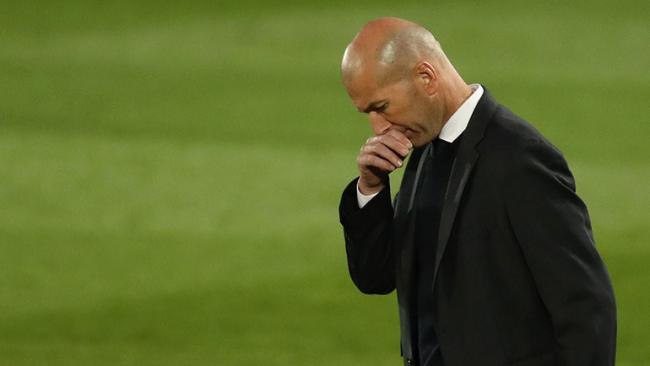 Зидан ушел с должности главного тренера «Реала»