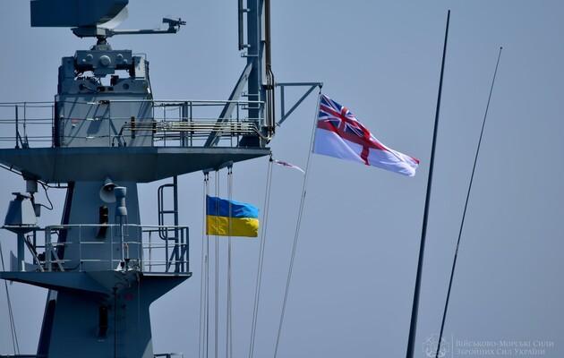 Британия восстановит военно-морские силы Украины