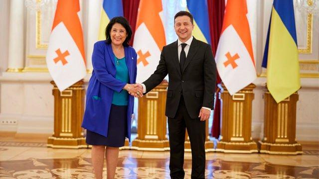 Отношения между Грузией и Украиной возвращаются к норме