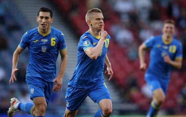 Украина победила Швецию и вышла в четвертьфинал чемпионата Европы