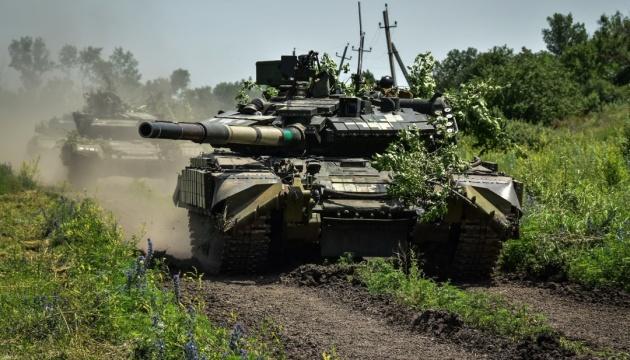 Танкисты отбили «наступление противника» в зоне ООС