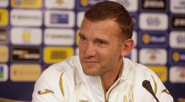 Шевченко: «Реакция в России на форму сборной Украины меня вообще не интересует»