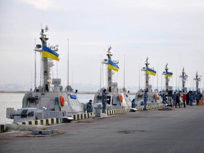 ВМС Украины отработали высадку десанта на побережье Черного моря