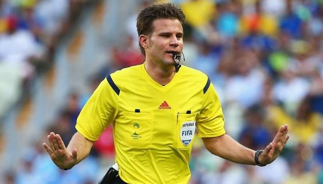 Арбитраж матча Украина - Англия доверили немцу Брыху