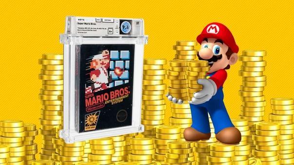 Нераспакованную видеоигру Super Mario продали на аукционе за рекордные $1,5 млн